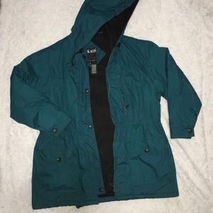 Vintage Men's 90s Blue Puffy Oversized Jacket L
